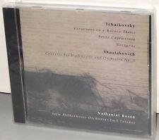 JOHN MARKS CD JMR-3: Tchaikovsky, Shostakovich - Rosen, cello - OOP 1994 USA NEW