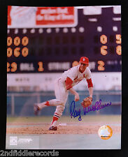 RAY WASHBURN-ST. LOUIS CARDINALS BASEBALL-Autographed 8 x 10 Picture w/ COA