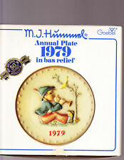 1979 M. I. Hummel Annual Plate Singing Lessons in Box