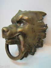 Antique 19c Bronze Figural Devil Dog Wolf Architectural Piece exquisite detail