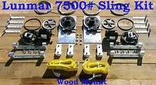 Lunmar 7500# Sling Kit Wood Mount