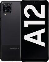 Samsung Galaxy A12 SM-A125F/DSN - 64GB - Schwarz (Ohne Simlock) (Dual SIM)