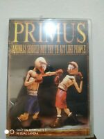 Primus - Animals Should Not Try To Act Like People DVD + BONUS CD NEW