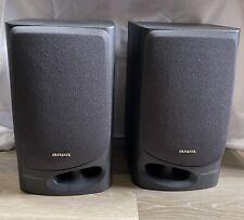 Set Of Vintage AIWA Speakers Model SX-N5200 50 Watt Works!