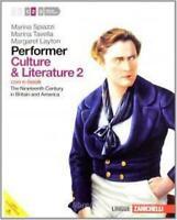 performer Culture & Litterature Vol.2 ZANICHELLI Spiazzi/Tavella (Senza CD)