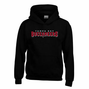 TAMPA BAY BUCCANEERS youth hooded sweat [black]