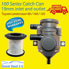 Toyota Landcruiser 80 100 105 Series Oil Catch Can Tank Pro 100kW Filter Element