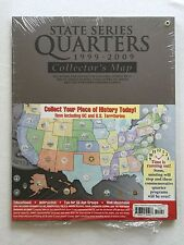 HE Harris & Co. State Series Quarters 1999-2009 Collectors Map