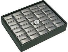 Stackable 20 Ring Tray Black Amp Steel Grey Jewelry Store Pawn Shop Display