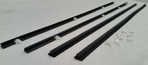 4 DOOR OUTER WEATHERSTRIPS WEATHER STRIPS for TOYOTA COROLLA KE70 1M LENGTH
