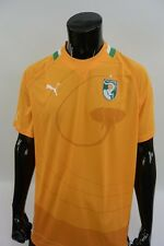 Puma Ivory Coast 2011-2013 Jersey Soccer Home Shirt SIZE XL (adults)