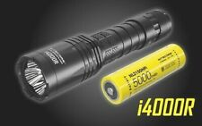 NITECORE i4000R 4400 Lumen USB-C Rechargeable Flashlight + 5000mAh Battery