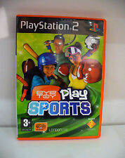 JEU PS2  EYETOY PLAY SPORTS COMPLET