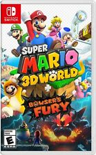 Super Mario 3D World + Bowser's Fury (Nintendo Switch, 2021) New Release
