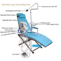 Dental Portable Folding Chair with Turbine Unit+ Pull Rod Box GM-C006 VEP