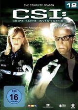 CSI-CRIME SCENE INVESTIGATION-SEASON 12 (TED DANSON/M.HELGENBERGER/+) 6 DVD NEU