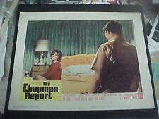 THE CHAPMAN REPORT, orig LCS (Efrem Zimbalist Jr., Shelley Winters, Jane Fonda)