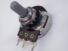 Egen 24mm Potentiometer 1K Linear Pot 6mm serrated spindle CD15