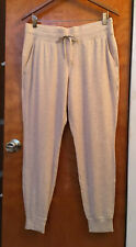 Lululemon Warm Down Joggers Soft Touch Heathered Cashew Sweatpants Size 10