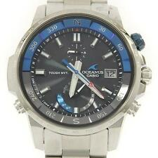 Authentic CASIO OCW-P1000-1AJF Oceanus Solar Quartz  #260-001-798-5888
