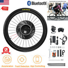 36V Front Wheel Electric Bicycle Motor Conversion Kit E Bike Cycling Bluetooth