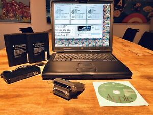 Apple Macintosh PowerBook G3 PDQ + 320 MB RAM + 18 GB HD + SCSI Accessoires