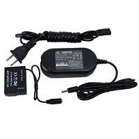 AC Power Adapter & DC Coupler for Panasonic DMW-AC8PP DMW-DCC8 Lumix DMC Series