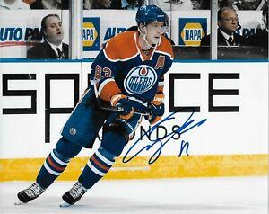 Autographed Edmonton Oilers Ales Hemsky 8x10 Photo Original