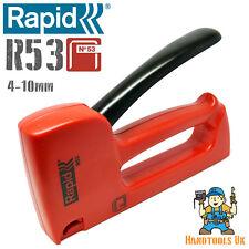 Rapid R53 Ergonomic Staple Gun / Tacker / Stapler General Purpose DIY 53 Series