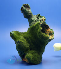 Tree Trunk Aquarium Ornament Root Drift Wood HIDE LOG Simulation moss AK777
