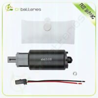 New Electric Fuel Pump & Strainer With Installation Kit E2226