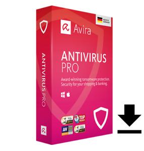 Avira Antivirus PRO|3 Geräte|immer aktuell für 1 Jahr|Sonderangebot|Download|ESD