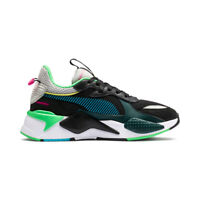 New Puma RS-X Toys Black/Blue Atoll Sneakers Chunky Running Shoes 36944901 2019