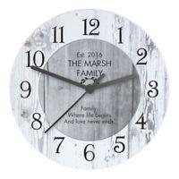 Reloj De Pared Vintage Reloj De Cuarzo De Madera Reloj De Cuarzo De Cocina  N8K6