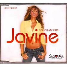 MAXI CD EUROVISION 2005 UK : javine Touch my fire CD1