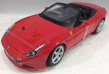 Bburago - 18-16007 - Ferrari California T Open Top Race & Play Scale 1:18 - Red