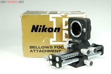 Nikon PB-4 Bellows. With swing and shift! Boxed. Graded: EXC+ [#9396]