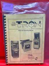 Tron Arcade Game Parts and Operating/Service/Repair/ Troubleshooting Manual H10