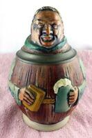 RARITÄT Bierkrug Bierseidel Motivkrug Gerz mit Stempel 17 cm hoch (19)