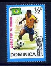 DOMINICA - 1974 - Coppa del mondo FIFA in Germania. E1995