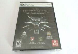 The Witcher 1 Enhanced Edition PC DVD ROM Game 2008 NEW SEALED World Post!