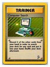 Computer Search 101/130 Base Set 2 Pokemon Card Exc Cond #