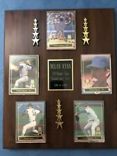 Nolan Ryan COMPLETE SET of 5 Cards w/FRAME 1993 Spectrum 24K Gold Signature