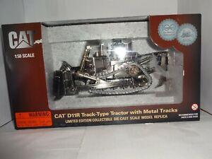 Norscot, Cat D11R Track Type Bulldozer W/Ripper, 1/50 Scale, Metal Tracks
