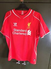 Liverpool 2014 Warrior Home Football Shirt Size Medium BALOTELLI 45
