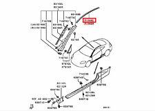 2006-2012 MITSUBISHI ECLIPSE DRIVER LEFT SIDE ROOF DRIP MOULDING OEM MN142231