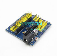 2PCS Nano I / O Expansion sensor Shield Module For Arduino UNO R3 Nano V3.0 new