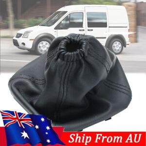 Black Stitch Gear Stick Gaiter Boot For Ford Transit Van MK7 06 -14 Pu Leather