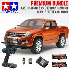TAMIYA RC 58616 Volkswagen Amarok CC01 1:10 Premium Wheel Radio Bundle