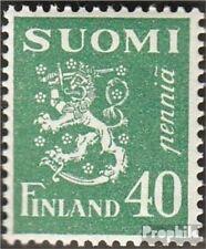 Finland Mi.-Aantal.: 147 met Fold 1930 Postzegels Wappenlöwe